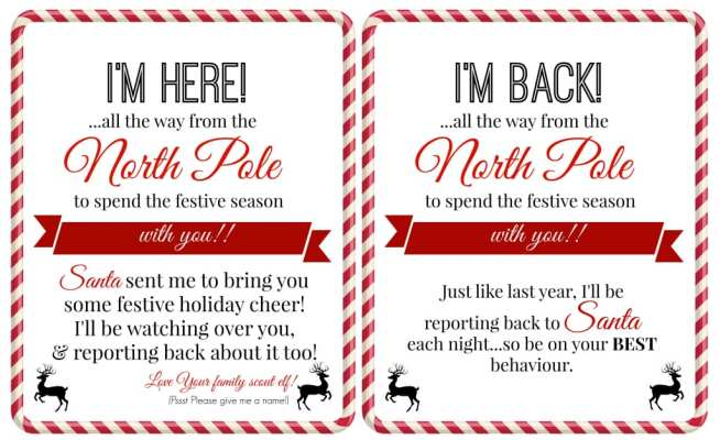 Free 'Elf on a Shelf' Printables - Super Busy Mum    A collection of 10 amazing free printable letters for a spectacular Elf on the Shelf arrival!!    Elf on the Shelf Ideas for Arrival: 10 Free Printables!