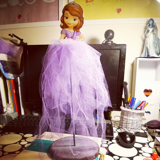 DIY Sofia the First Party Decoration Inspiration