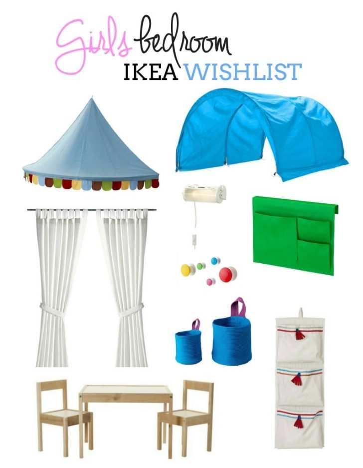 Girls bedroom Ikea Wishlist