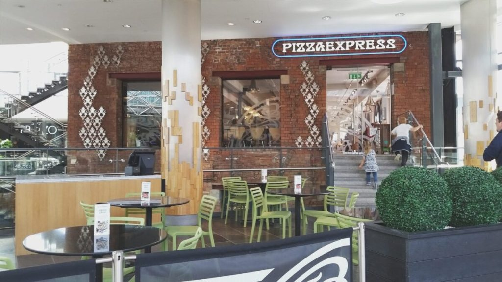 An afternoon of dining, with Pizza Express