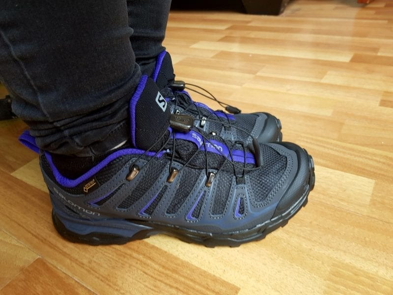 This is my review for the Saloman Women's Walking shoe from Millet sports - Click through to my post to see more photos and what I thought of them!