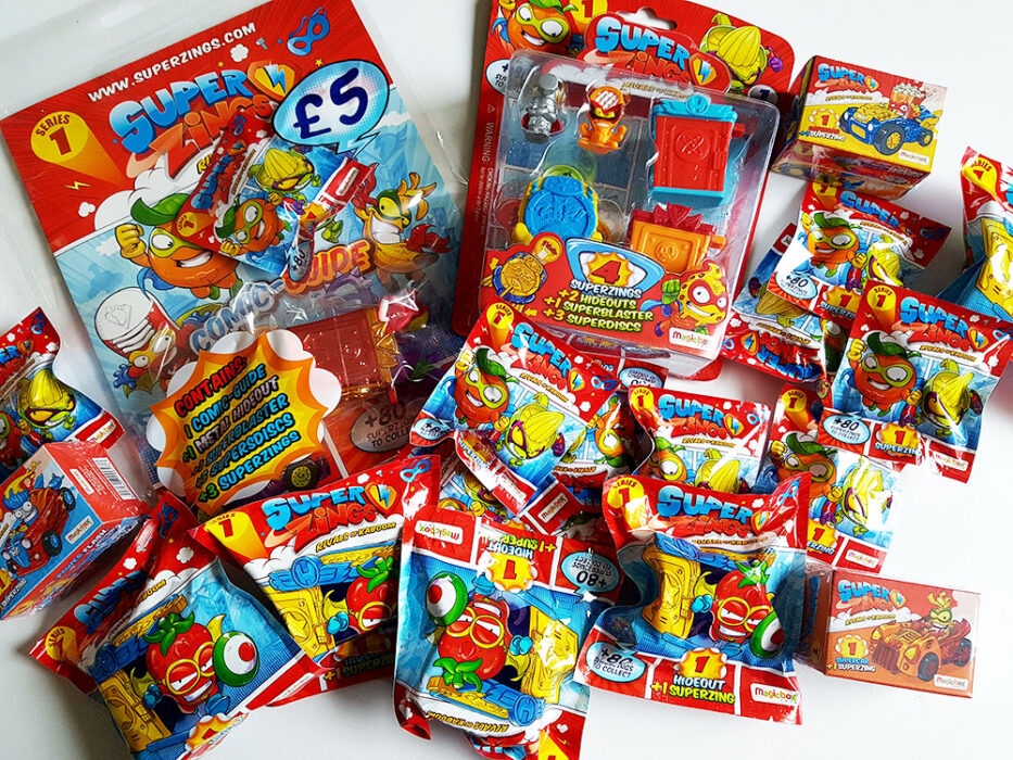 SuperZings Collectables
