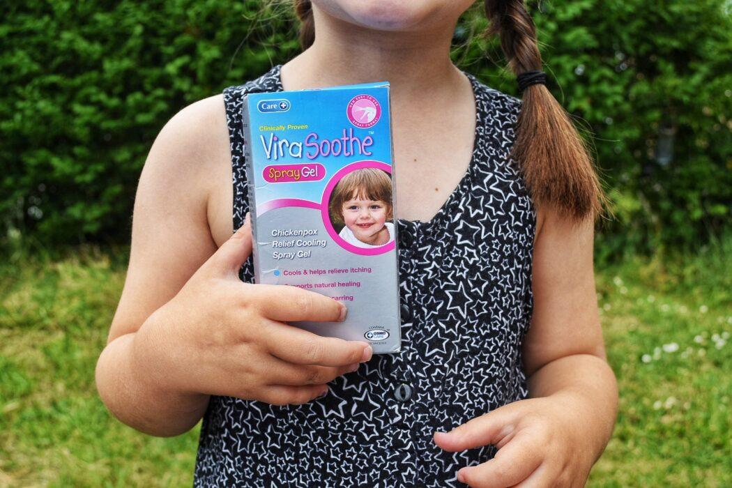 3 ways to soothe Chickenpox   ViraSoothe Spray Gel