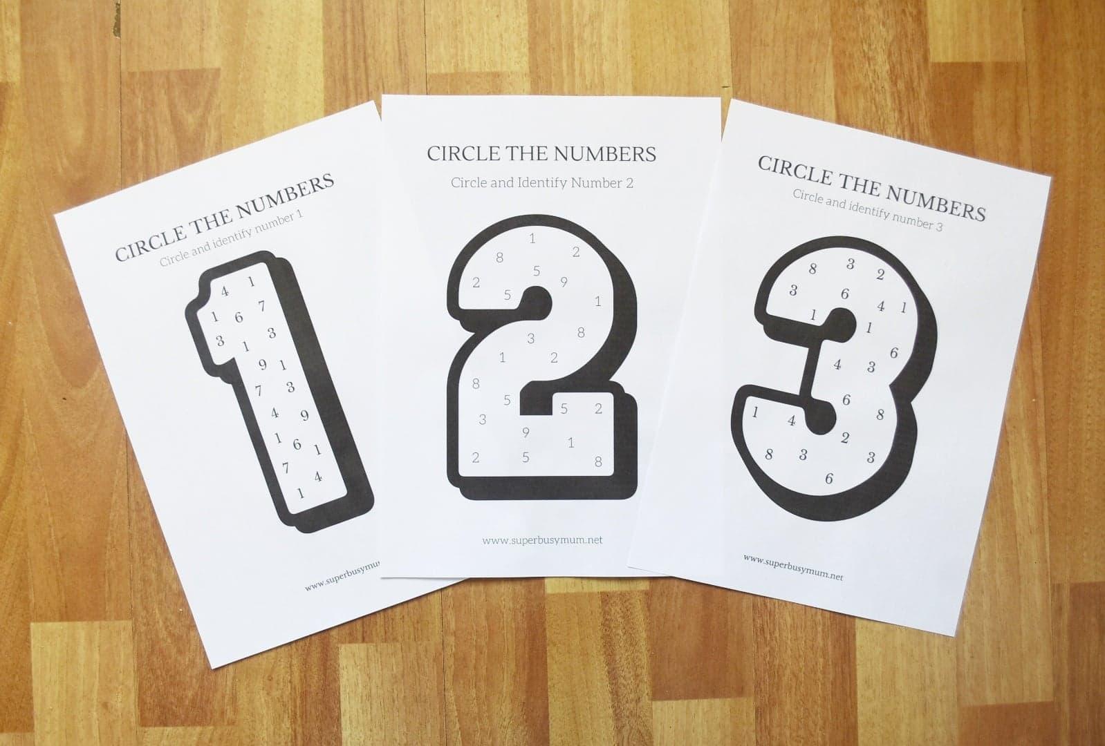Number Recognition Worksheets Free Printables