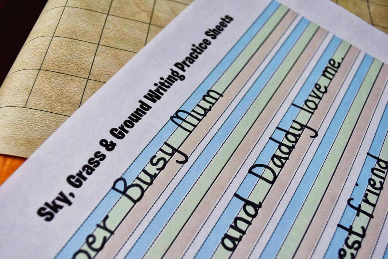 An Amazing Handwriting Worksheet Free Printable