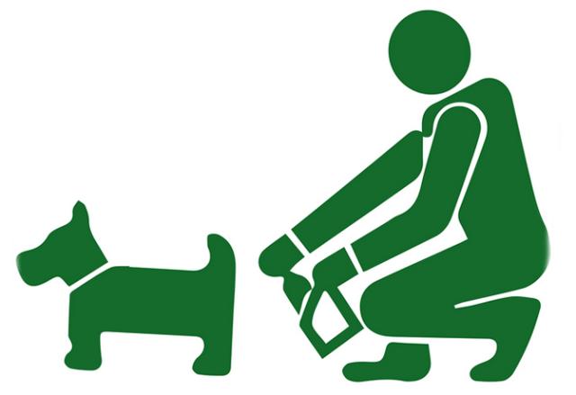 Resultado de imagen para levantar caca de perro en la calle