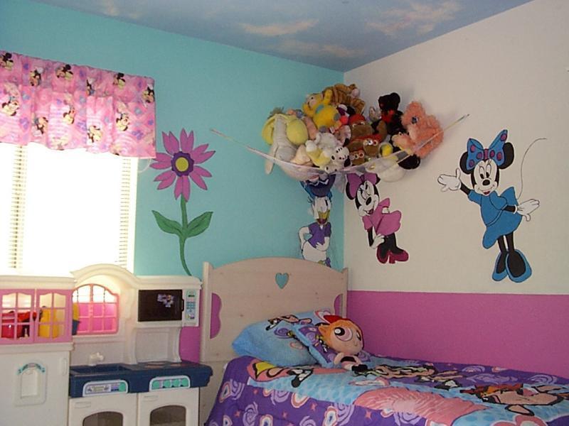 Wallpaper Powerpuff Girl صور ديكورات غرف نوم اطفال 2016 بدهانات والوان مودرن سوبر