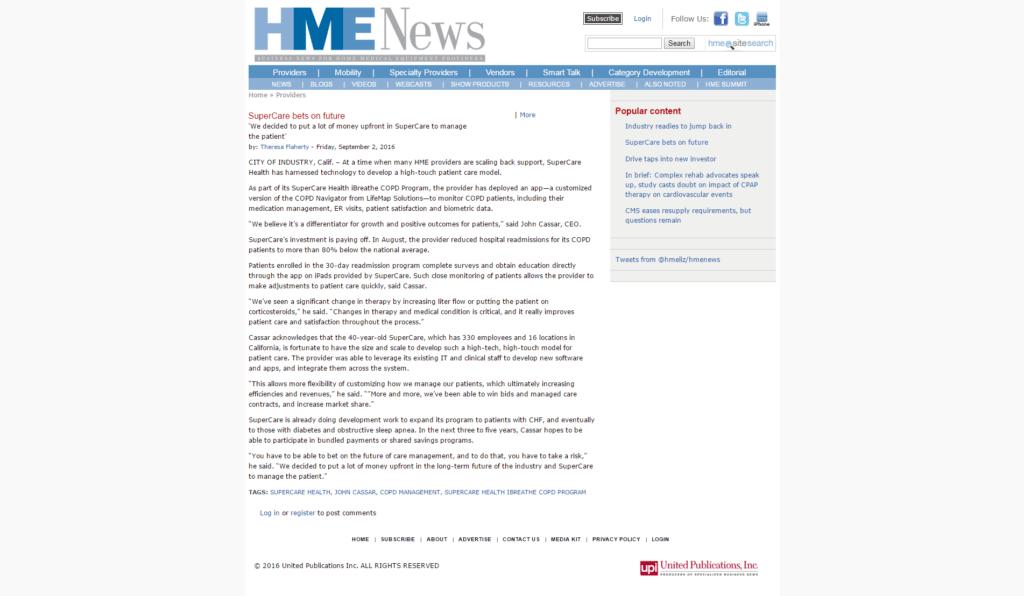 HME News
