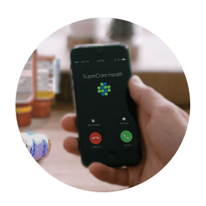 Connecting with care team over mobile