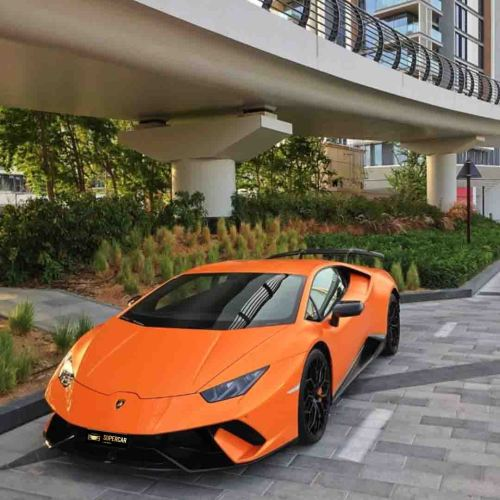 Lamborghini Huracan Performante rent Dubai