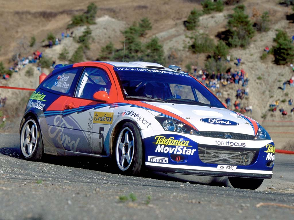 2002 Ford Focus Rs Wrc  Ford  Supercarsnet