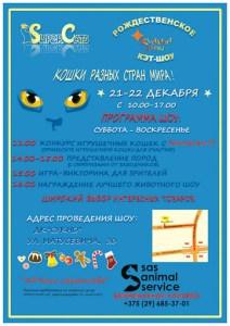 ASC Рождественское шоу, Минск @ XMas cats show | Минск | Минская область | Беларусь