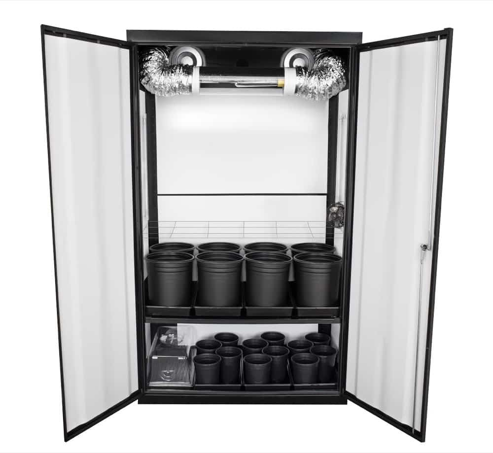 Supernova Hps Soil Grow Cabinet Supercloset