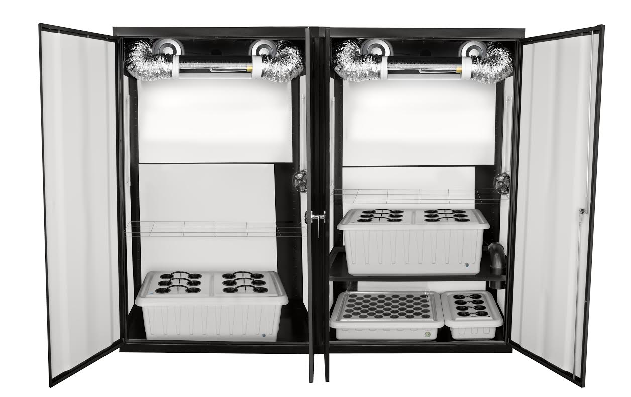 SuperTrinity HPS Grow Cabinet  SuperCloset