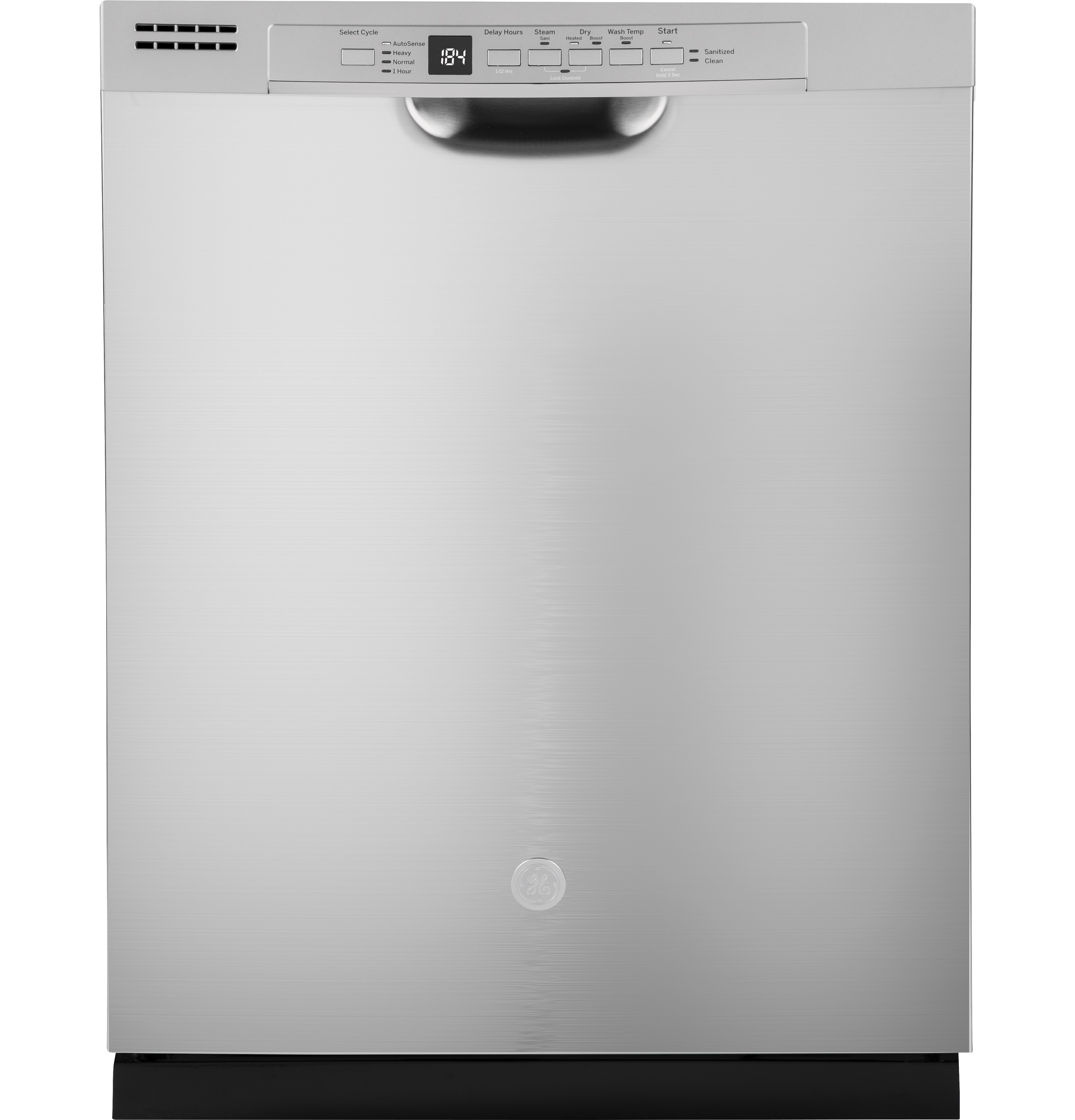 GE GDF530PSMSS 24 in. Front Control Built-In Tall Tub Dishwasher in Stainless Steel with Steam Prewash, 54 dBA - Superco Appliances, Furniture ...