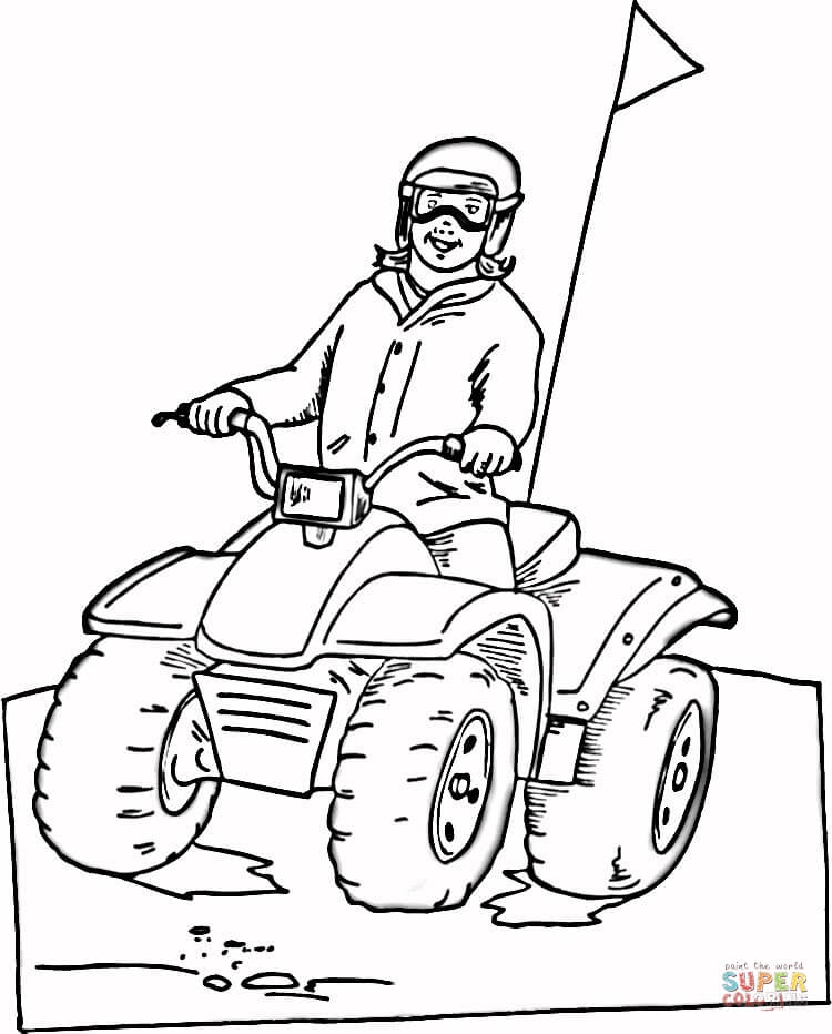 Dune Buggy Coloring Page : buggy, coloring, Buggy, Coloring, Printable, Pages
