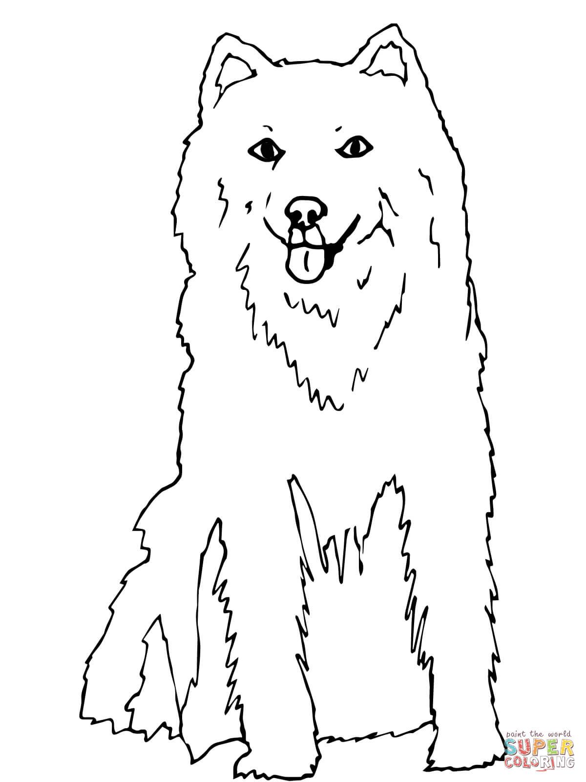 Husky Coloring Page : husky, coloring, Alaskan, Husky, Coloring, Printable, Pages