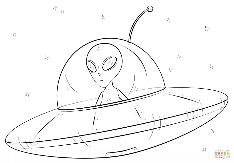 Trippy Coloring Easy Stoner Alien Drawing Www Galleryneed Com