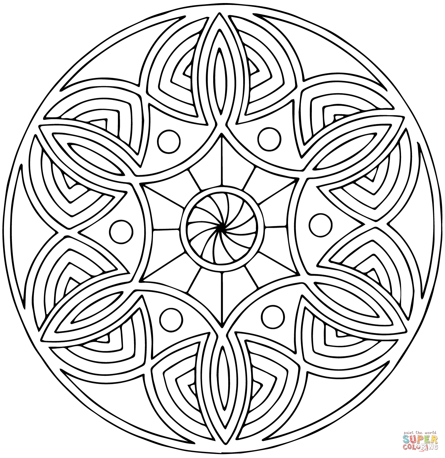 Free Book Of Kells Coloring Pages