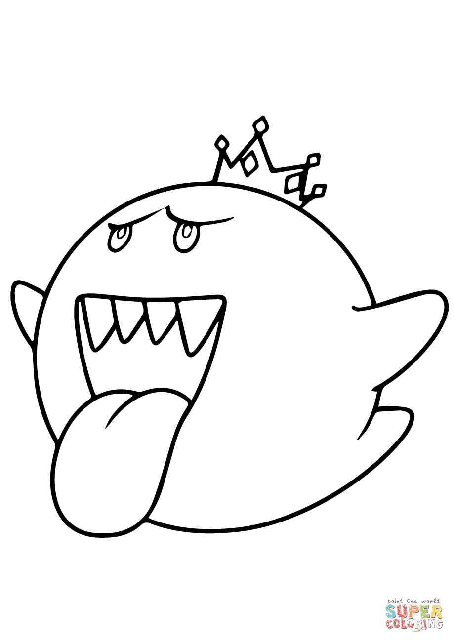 Mario Cart Coloring Pages : mario, coloring, pages, Mario, Coloring, Printable, Pages