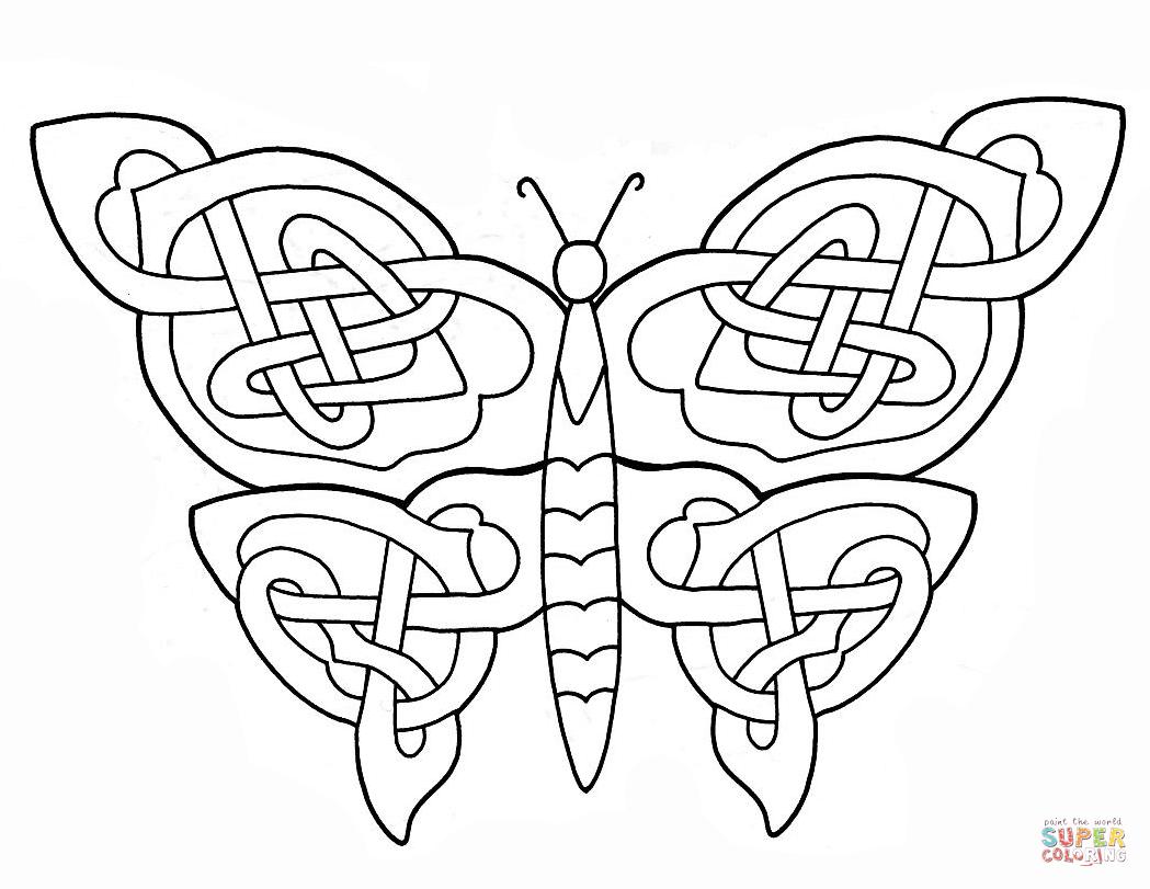 Free Book Of Kells Coloring Pages | Księga Z Kells