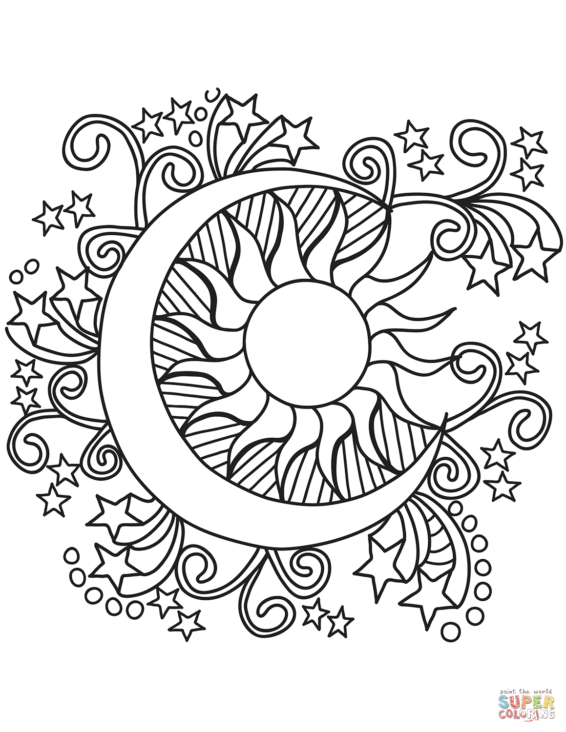 Space & Astronomy coloring pages | Free Coloring Pages