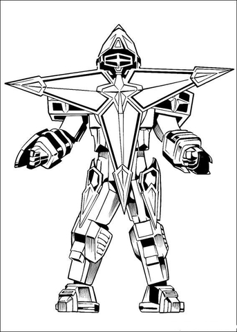 Megazord Coloring Pages : megazord, coloring, pages, Megazord, Coloring, Printable, Pages