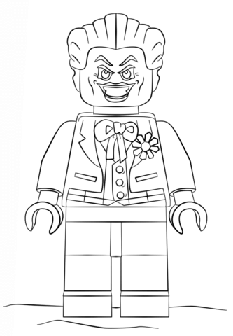 Joker Coloring Pages : joker, coloring, pages, Joker, Coloring, Printable, Pages