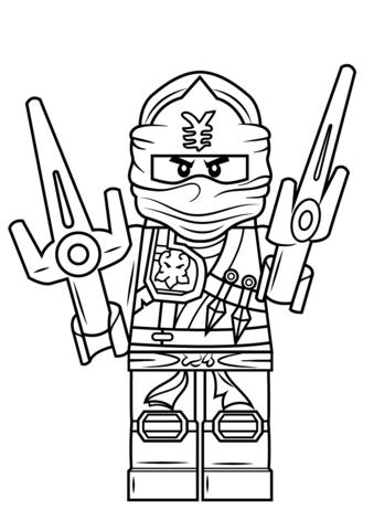 How To Draw Jay From Ninjago : ninjago, Ninjago, Coloring, Printable, Pages