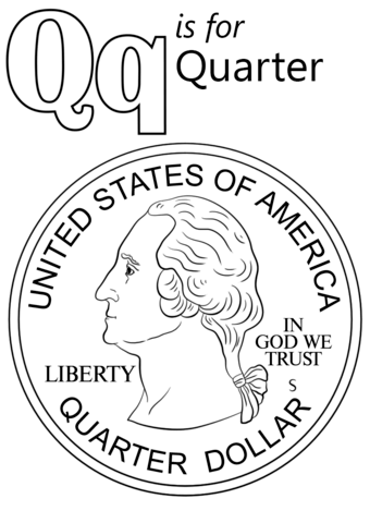 Q Coloring Page : coloring, Letter, Coloring, Pages