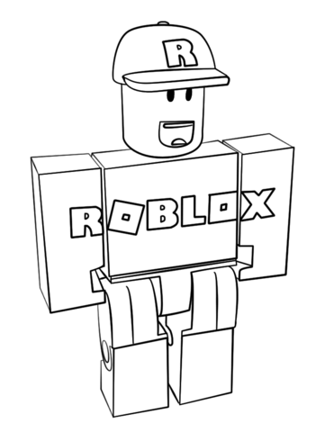 Loudlyeccentric: 31 Roblox Coloring Pages To Print
