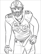 Nfl Coloring Page : coloring, Coloring, Pages