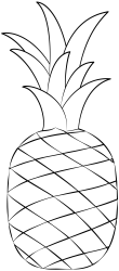 Pineapple Printable Template Free Printable Papercraft Templates