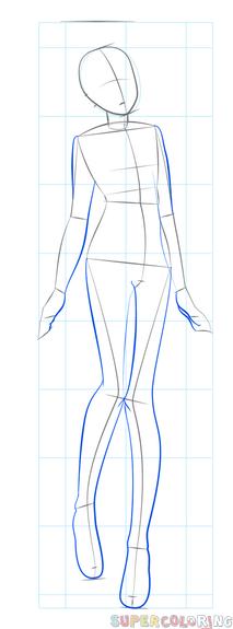 Step By Step Anime Girl : anime, Anime, Drawing, Tutorials