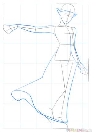 zelda princess draw drawing step drawings tiara supercoloring tutorials outline medium