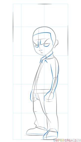How To Draw Boondocks Style : boondocks, style, Freeman, Drawing, Tutorials