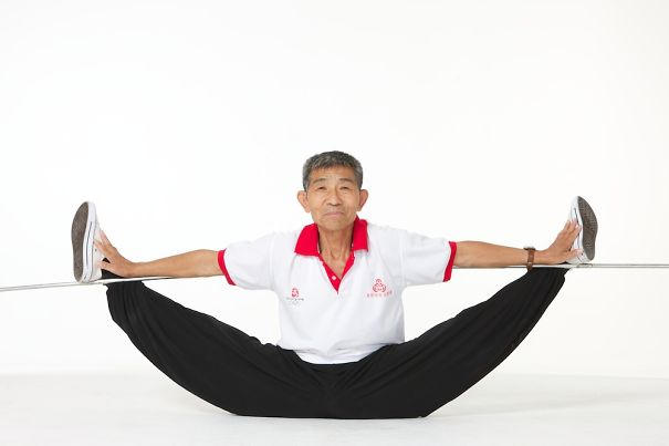 73-летний атлет Дуань Цинфу