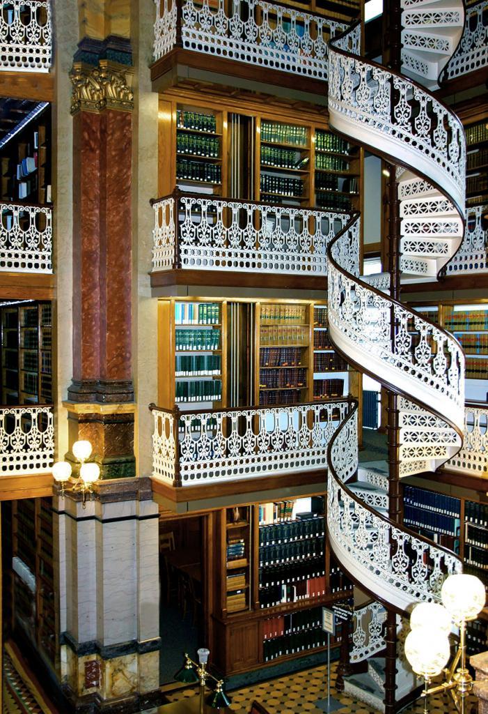 Юридическая библиотека штата Айова, США