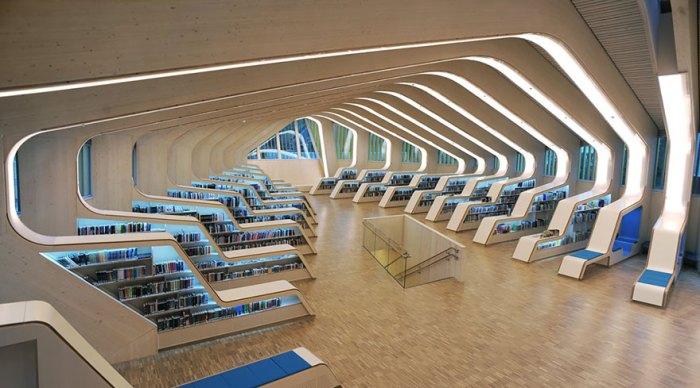 Библиотека Веннеслы, Норвегия