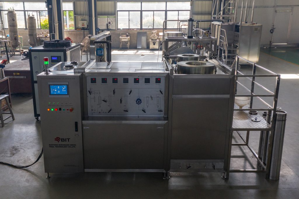 blackberry seed oil supercritical CO2 extraction machine
