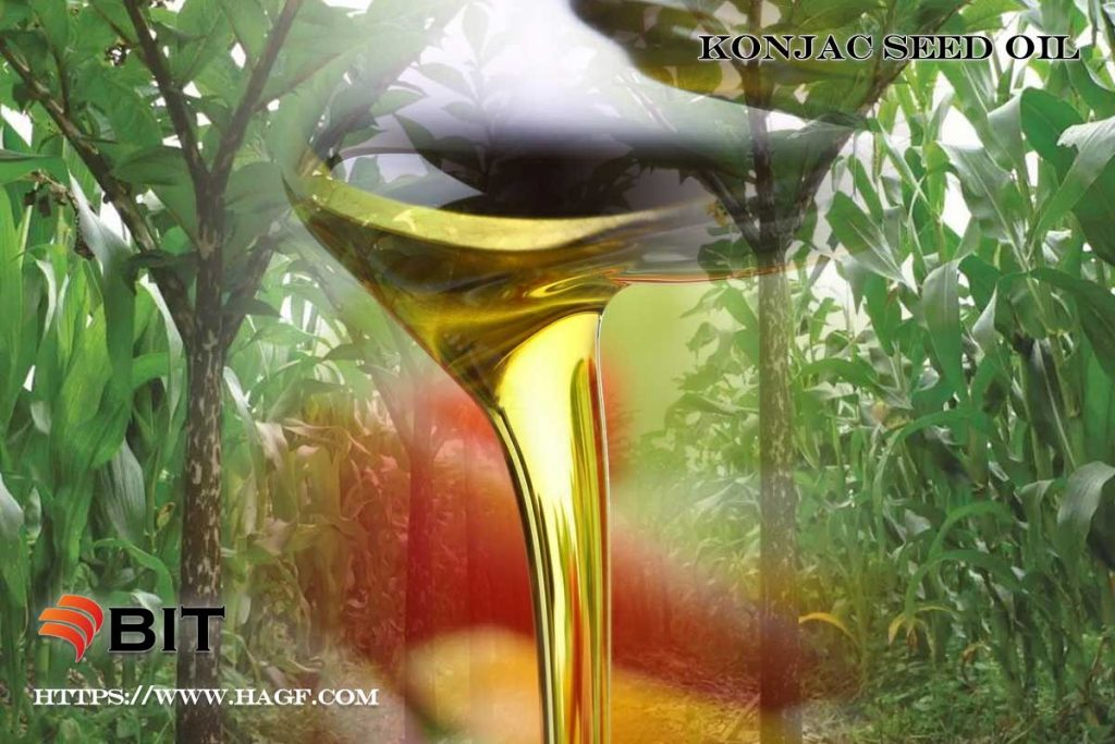 Supercritical CO2 Extraction of konjac seed oil