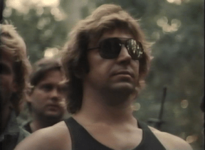 Mullets and aviators. The 80's called. It said you look totally rad and should keep doing what you're doing.