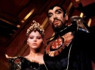 Max von Syndow as Ming and Ornella Muti as Princess Aura.
