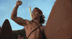As ridiculous as this movie is I'm still jealous of Ernie Reyes Jr.'s bod...