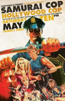 Disregard most of the poster art for this movie. It's awesome and therefore misrepresents the film.