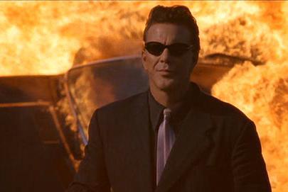 Mickey Rourke plays the villain Stavros!