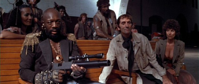 Isaac Hayes as the Duke and Harry Dean Stanton as Brain.