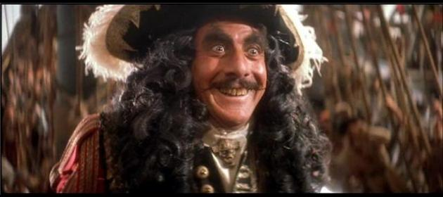 And the award to the most FABULOUS Captain Hook goes to...