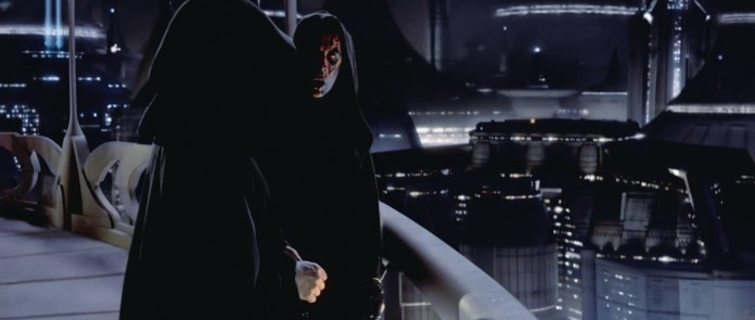 """""""Hey, why do we need to start a war on Naboo so that you can take over the government?"""" """"Shut up! I've got more Force points than you, so we're going with my plan!"""""""