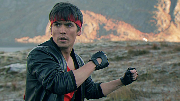 """I decided I would use my new super kung-fu powers to fight crime. So I became the best cop in the world. I became Kung Fury."""